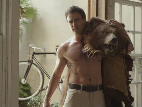 Patrick Reid - Shirtless with a bear - Offspring