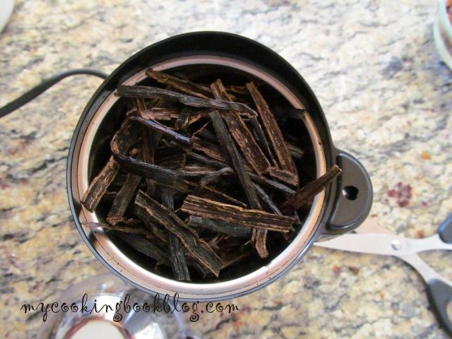Как се прави ванилия на прах (Vanilla Powder)