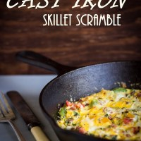 Cast Iron Skillet Scramble