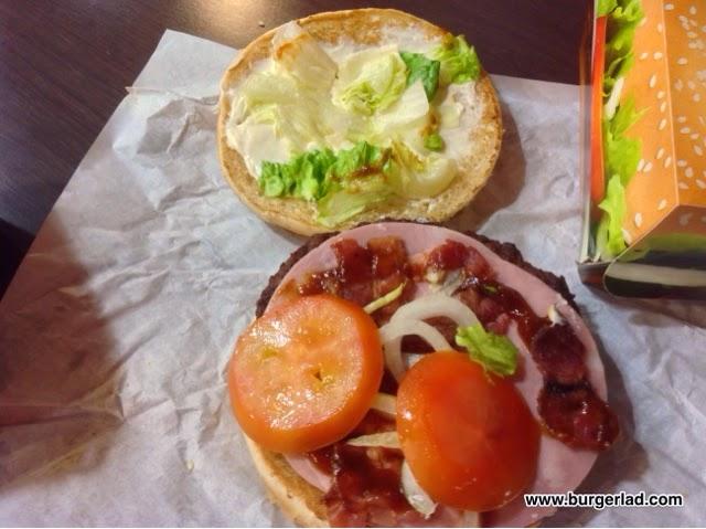 Burger King Quattro Cheese Whopper