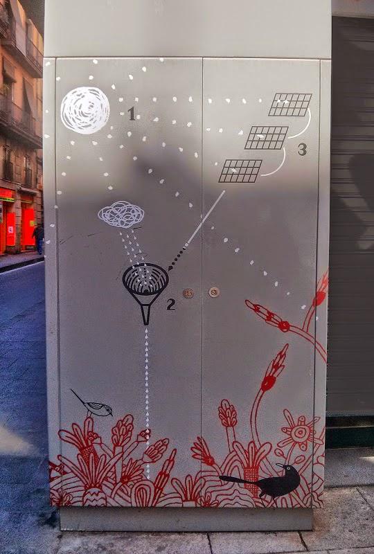 croquis funcionamiento jardin vertical barcelona