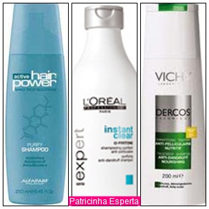 Dicas de Shampoo anti-caspa