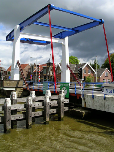 Stationsbrug in Frentsjer