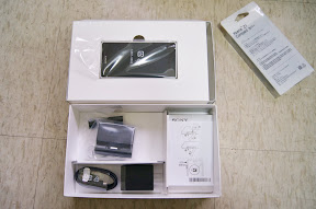 白色 Sony Xperia Z1 Compact 開箱文 (5/6)