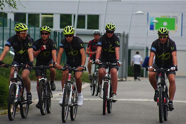 Vio fietst tijdens West-Vlaanderens Mooiste