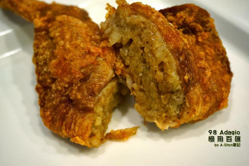 超容易飽嘴的雞翅包飯-98 Adagio 慢用百匯