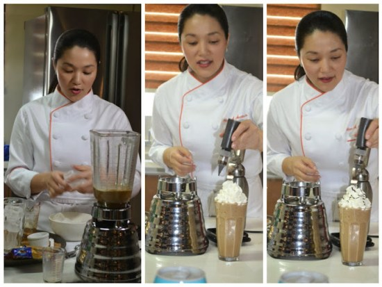 Chef Aileen shared a very simple Icy Coffee recipe