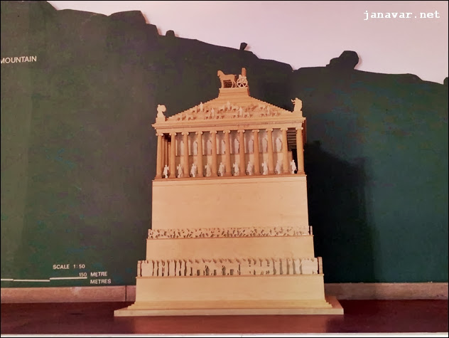 Turkey Tuesday: Das Mausoleum von Halikarnassos, eines der 7 Weltwunder der Antike, Bodrum