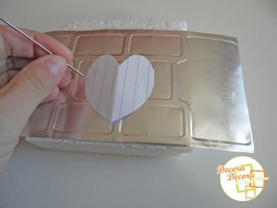 Decora en San Valentin con lamparitas hechas a mano.