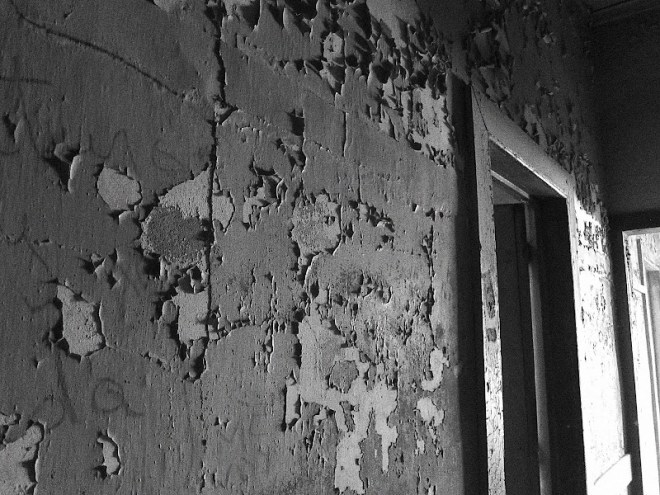 The abandoned hospital in Humberstone