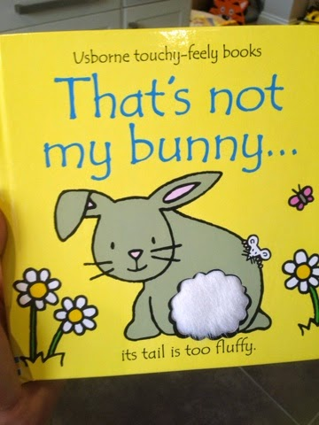 Easter gift ideas for babies mummys zone oscar always loved the thats not my books and the bunny one is perfect for easter it is a fun touchy feely book which your little one will love negle