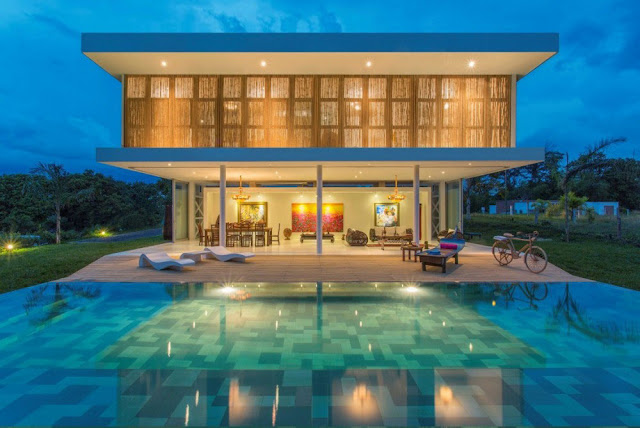#GM Arquitectos 哥倫比亞建築事務所:打造 Gallery House 藝術之家 別墅 1