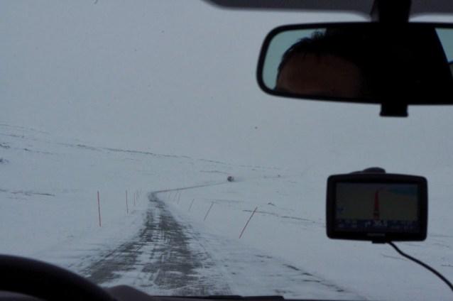 Carreteras en Laponia