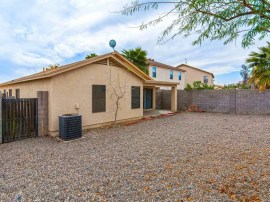 Backyard of El Mirage Home for Sale