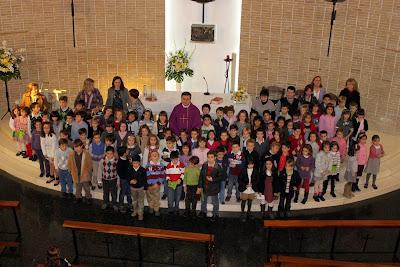 Misa de los niños de 2º de Primaria