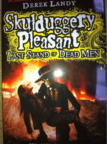Skulduggery Pleasant, Skulduggery Pleasant Last Stand of Dead Men, Derek Landy, Book review