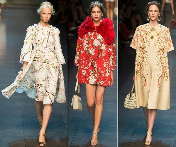 MFW: Dolce & Gabbana, proljeće 2014