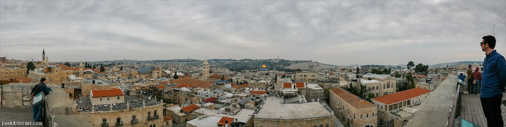 Панорамы Иерусалима