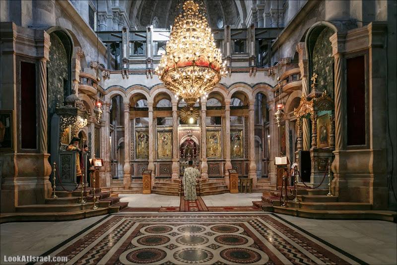 Литургия в храме Гроба Господня