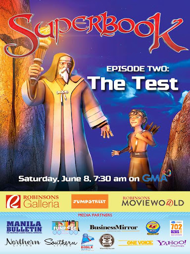 SuperBook Episode Two: The Test