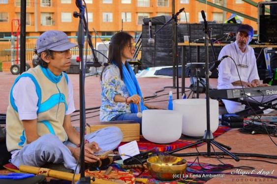 Presentación musical Hector Buitrago, Cata Salguero y Pedro Crump.