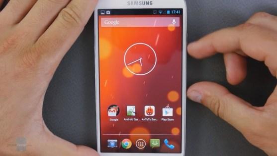 Tampilan Samsung Galaxy S4 Setelah Upgrade ke Android 4.3 Jelly Bean