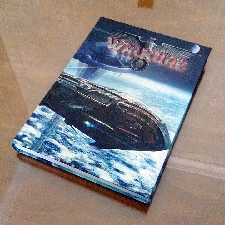 Fotografía de la cubierta de Walküre.