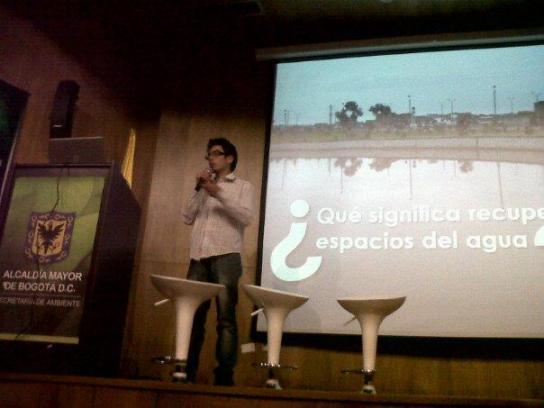 Humedales Bogotá en el conversatorio