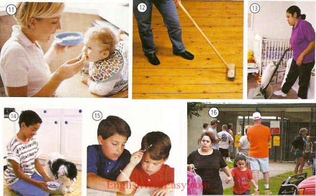 Home Housework Online Dictionary For Kids
