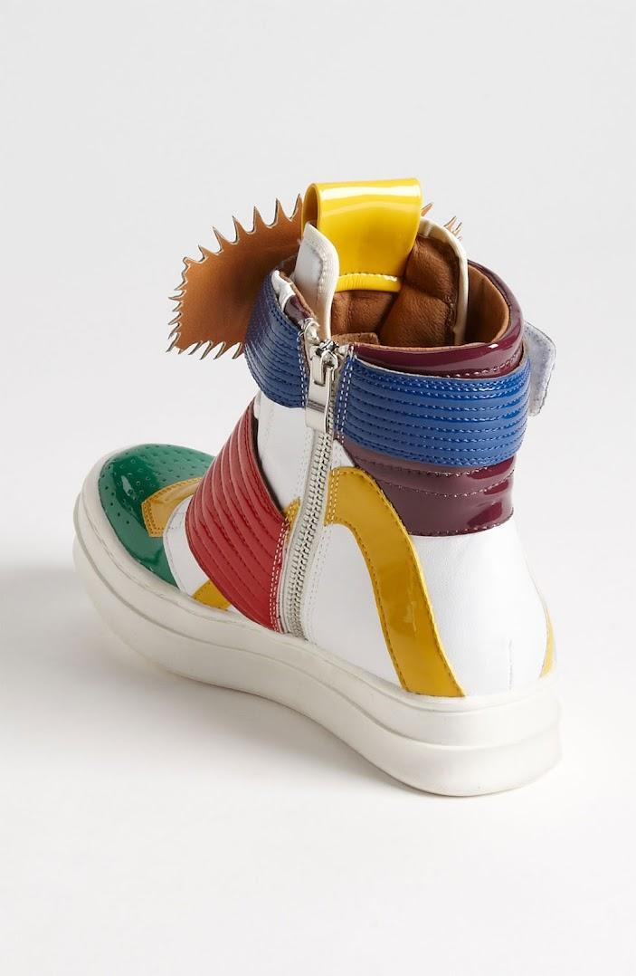 *Jeffrey Campbell 的漫畫球鞋:WOW!BAM! Sneaker 4