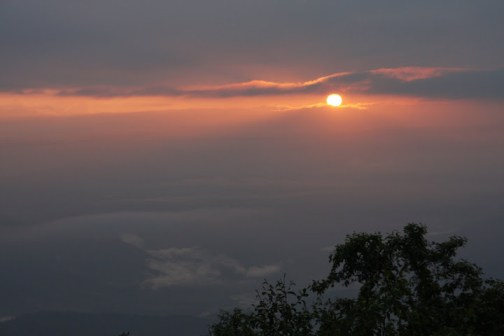sunrise in Nepal