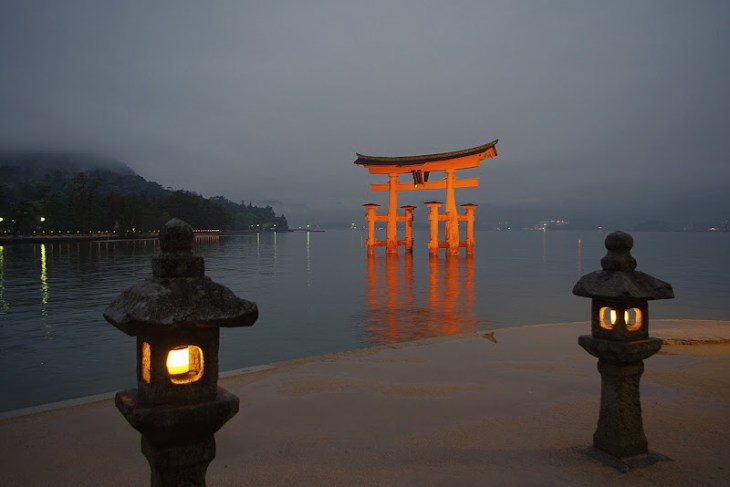 Torii de Itsukushima
