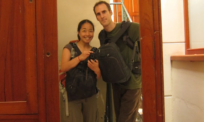 Traveling with only a daypack. Possible?