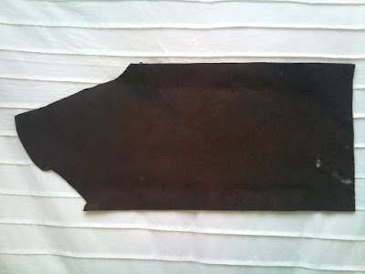 leather cutoff - value around £3