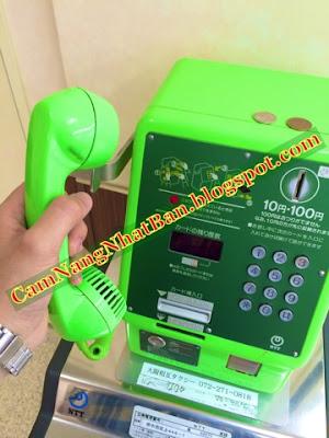 Gọi điện ở Nhật