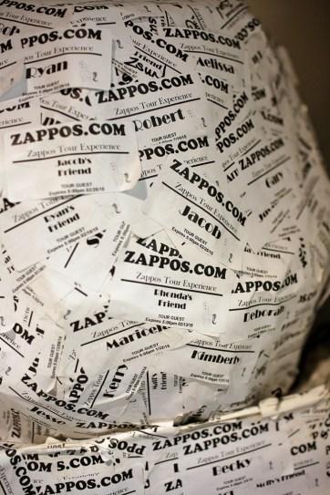 Lucille Ball Zappos Tour Experience.