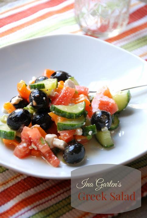 Ina Garten's Greek Salad