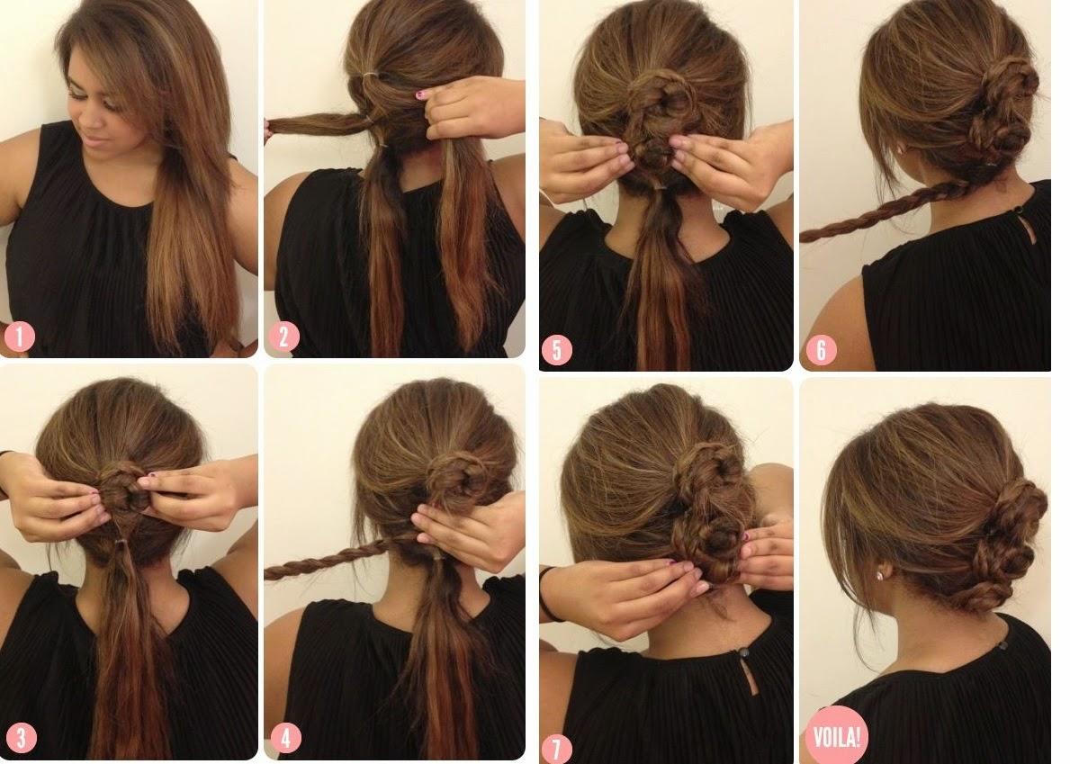 Peinados casuales faciles y bonitos - Peinados faciles paso a paso ...