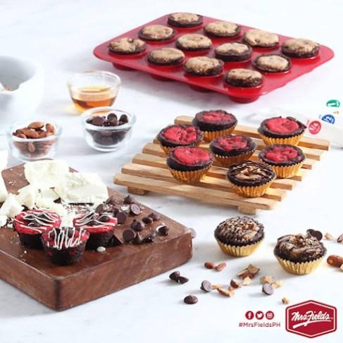 mrs. fields philippines cookies meet brownies