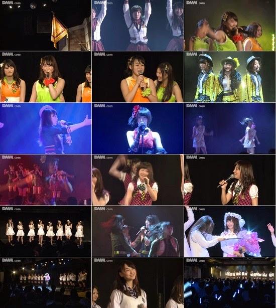 """(LIVE)(公演) SKE48 チームE """"手をつなぎながら"""" 柴田阿弥の生誕祭 150402 & 150408"""