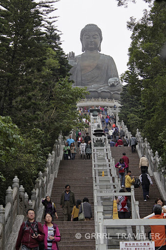 visiting lantau island big buddha, visiting hong kong's giant buddha, giant buddhas of the world