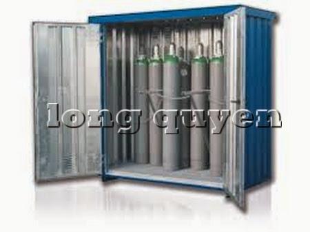 Tủ sắt để bình khí và lỏng ngoài trời B