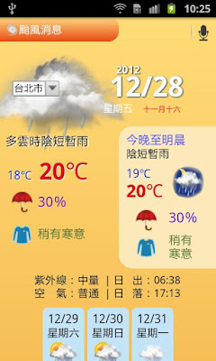 *集很多生活用機能於一身的App:生活行 VoiceGO! (中文搜尋平台) (Android App) 3
