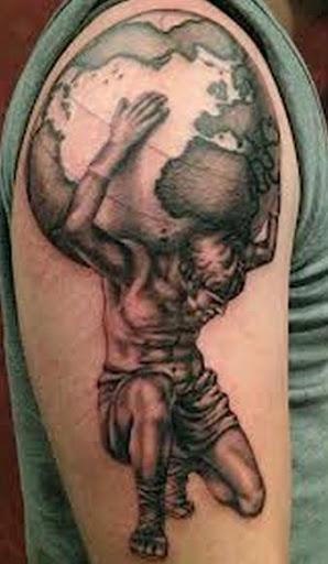 50 Best Atlas Tattoos Designs And Ideas 2019
