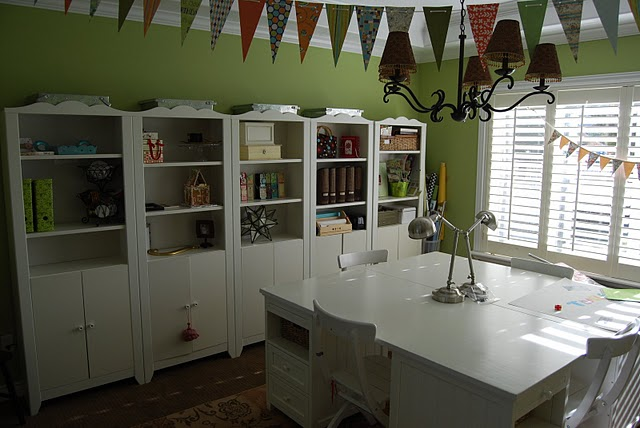 My Dining Room Turned Craft RoomOffice and show off YOUR space
