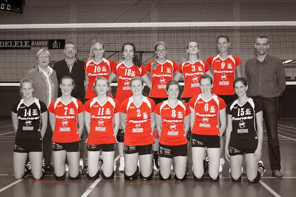 Volleybalteam Bevo Roeselare dames 2e divisie
