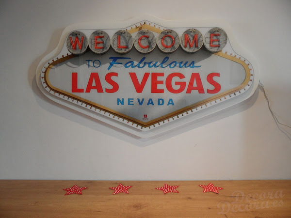 Cartel luminoso Las Vegas.
