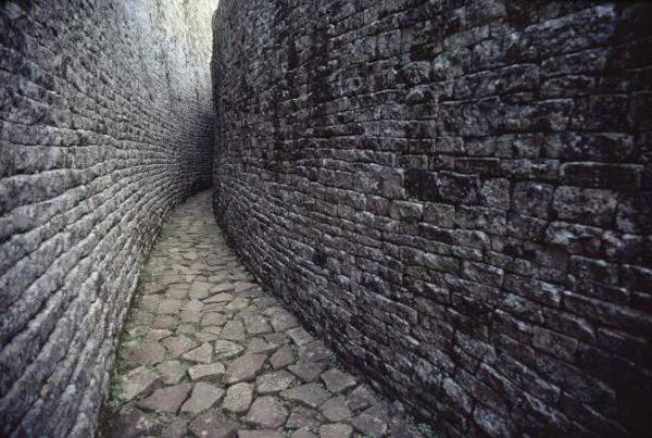 древний город в Африке