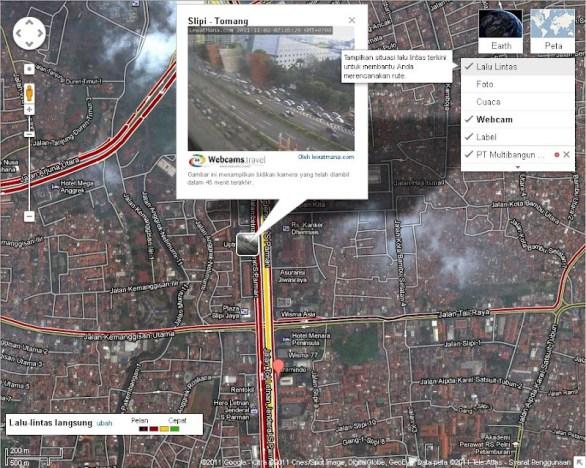 Pantau Lalu Lintas dengan Google Maps