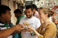 Gol gappa in India http://indiafoodtour.com  http://foodtourindelhi.com